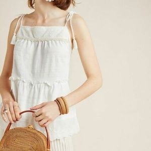 ANTHROPOLOGIE April Tied Top